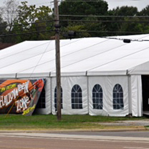 Clear Span Tent Event Rent in Memphis