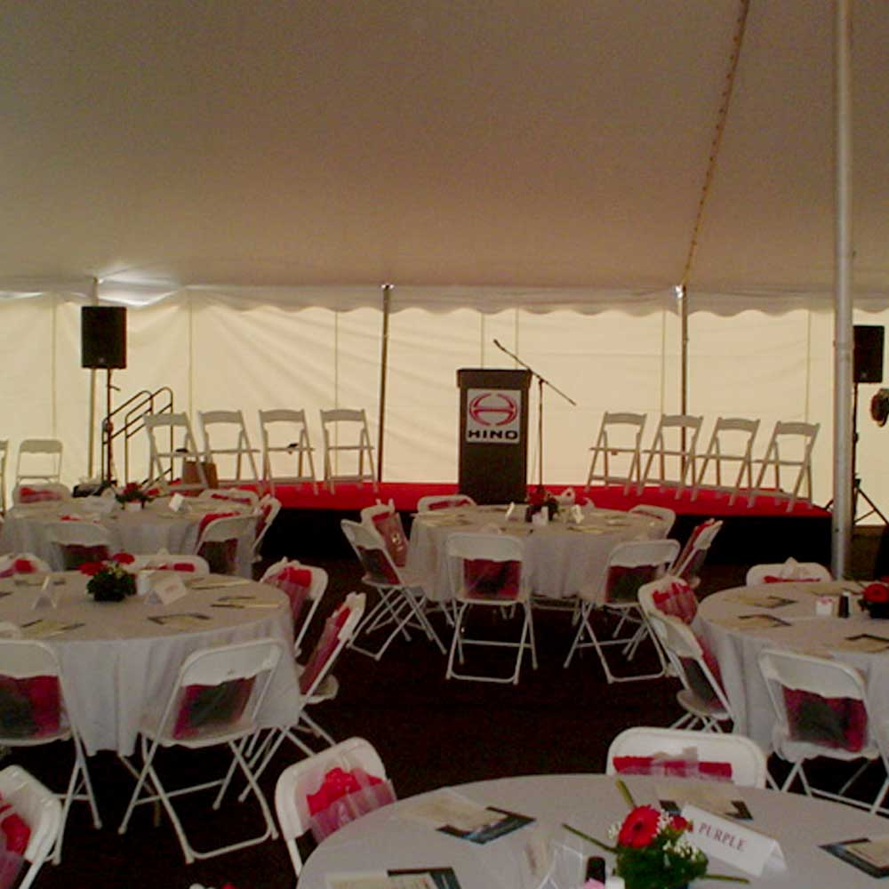 Frame Tent Event Rent in Memphis